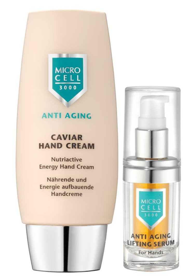 Micro Cell Caviar Hand Cream + Hand Lifting Serum