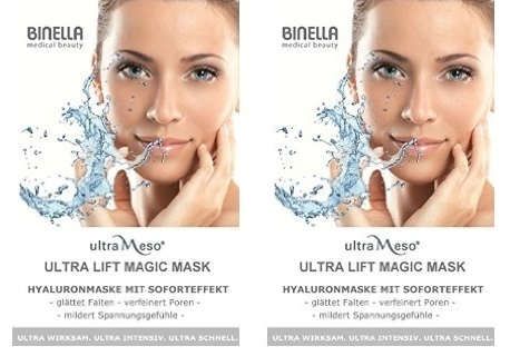 BINELLA ultraMeso Ultra Lift Magic Mask 2x